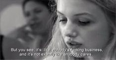 This is exactly how I feel day in day out, but I try my hardest to push it aside and smile. I think that's the hardest thing, faking it. Skins Quotes, Film Quotes, Cassie Skins, Skins Uk, Movie Lines, New Skin, My Heart Is Breaking, How I Feel, Movies And Tv Shows