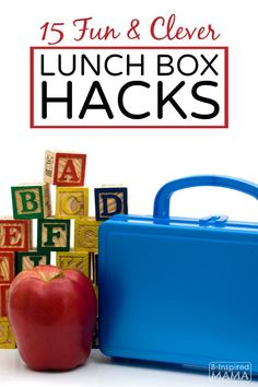 15 Fun and Clever Lunch Box Ideas - To Make Your Kids Back to School Lunch Special - B-Inspired Mama - AD LovableLunch