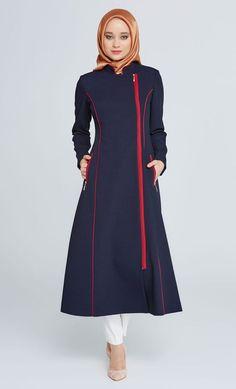 Trendy Coat Style Abaya for winter – Girls Hijab Style & Hijab Fashion Ideas Turkish Fashion, Islamic Fashion, Muslim Fashion, Modern Hijab Fashion, Abaya Fashion, Modest Fashion, Muslim Dress, Hijab Dress, Winter Fashion Outfits