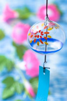 Wind Bell:スマホ壁紙 Japanese Modern, Japanese Landscape, Japanese Wind Chimes, Blowin' In The Wind, All About Japan, Watercolor Wallpaper, Oriental, All Animals Photos, Nihon
