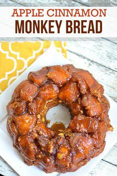 Cinnamon monkey bread, Monkey bread and Apple cinnamon on Pinterest