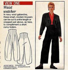 WIDE LEG TROUSERS GAUCHO PALAZZO PANTS Essentials E8 Sewing Pattern 10 12 14 16   eBay