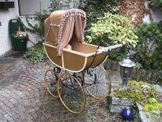 antiker Kinderwagen 1900 TOP restauriert aus Sammlung
