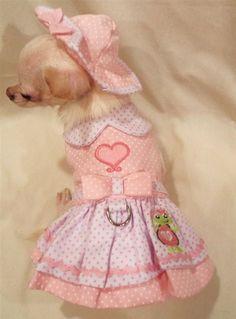 Chihuahua Dress http://www.doggieclothesline.com/chihuahua-clothes