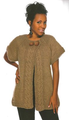 Ravelry: Cabled in Comfort pattern by Doreen L. Marquart