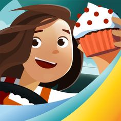 #AppyReview by Sharon Turriff @AppyMall Motion Math: Cupcake! This is a top app for working on Math Skills with children. Children get to run their own cupcake shop. They get to design the cupcake, choose the ingredients, and work out how much they are going to sell each one for. The object of the game is to maximise their profits and grow their business. Throughout the game new challenges appear. Another supermarket vendor opens up in