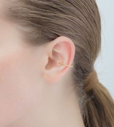 Square Diamond Ear Cuff | Hirotaka Jewelry Official Online