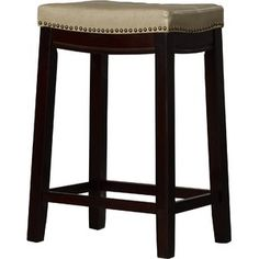 Prop yourself up for quick snacks and late night conversations with the super chic Russett bar stool by Three Posts. The sturdy wooden frame is finished in a rich dark brown hue that complemen Counter Height Bar Stools, 30 Bar Stools, Swivel Bar Stools, Bar Counter, High Top Tables, Upholstered Stool, Kitchen Island With Seating, Pub Table Sets, Home Decor Kitchen