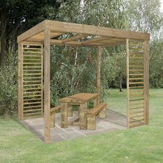 Florence Pergola with side panels