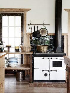 Печь, установленная на кухне, сейчас переживает второе рождение, ведь она обладает эксклюзивным дизайном и многочисленными полезными функциями.