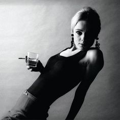 EDIE SEDGWICK    Model, actress, socialite but mostly well known for being Andy Warhol's muse.There was something vulnerable and trivial about her, everybody wanted to be her. They said that Edie was beautifully empty like a Warhol's can but the story of her life says something completely different.