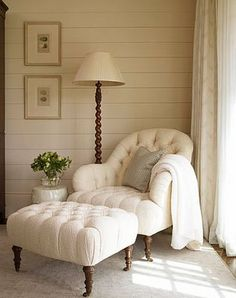 Love .... Tufted Chairs