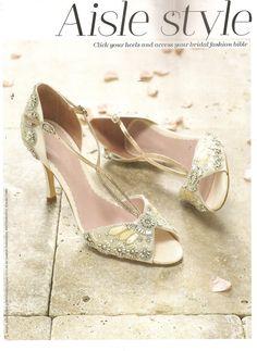 Emmy Shoes, You Wedding May/June 2013 @mlprltd