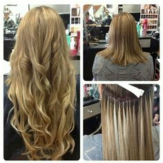 Individual, strand-by-strand extensions...in for 6 months (with monthly maintenance)...relaxers can be done in-between time while these are in! Appointments booked at 9am Tuesdays/Thursdays...some Saturdays are possible...check the prices at other salons and then call me...you will not be disappointed...price includes 200grams of human remy hair...  You can book any available dates anytime online at  http://www.genbook.com/bookings/slot/reservation/30185788  Just book the date and leave a…