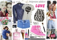 """Addicted to Love"" by elske88 ❤ liked on Polyvore"