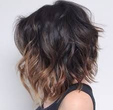 Image result for curly lob with bangs