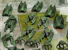 Green scourge by Tangopop Painting Competition, Paint Ideas, Pigs, Gaming, Miniatures, Green, Videogames, Pork, Game