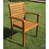 Found it at Wayfair - Royal Tahiti Oslo Dining Arm Chair