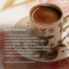 This Pin was discovered by ayş Herbal Remedies, Natural Remedies, Turkish Coffee Machine, Healthy Life, Healthy Eating, Turkish Tea, I Love Coffee, Coffee Time, Turkish Recipes