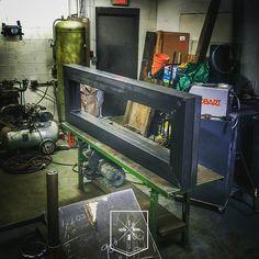 1 of 2. IndustrialReclaim.com  #industrialfurniture #modernfurniture #design #art #handmade #decor #vintage #simple #minimalism #vintageindustrial #industrial #creative #steel #metal #metalwork #welding #industrialdesign #interiordesigner #interiordesign #modern #moderndesign #modernindustrial #chicago #Chicagoart #insta_chicago #chicagogram