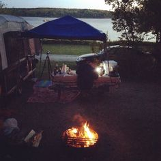 Oceanside Camping Lamoine State Park Campground Ellsworth Maine