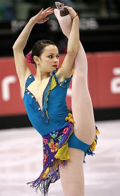 Sasha Cohen -Blue Figure Skating / Ice Skating dress inspiration for Sk8 Gr8 Designs.