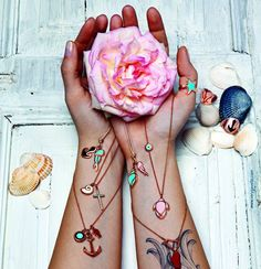 Very Gavello - Summer 2013 Wonderful Things, I Tattoo, Watercolor Tattoo, My Style, How To Wear, Accessories, Summer, Fashion, Moda
