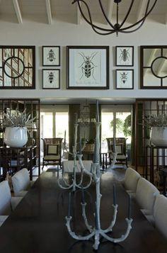 Haus Design: John Jacob Interiors: Intriguing South African Design.  Love the bugs.