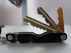 What's this!!!  I'm all over it!!  Leatherman Micra Multi Key Mod,  - add your keys without the jingle
