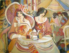Isaac Maimon - Cafe Paris