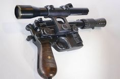 Rare Master Replicas Prototype HAN SOLO BLASTER PROP REPLICA from Star Wars Episode IV: A New Hope