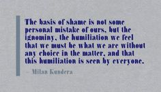 Shame & Humiliation