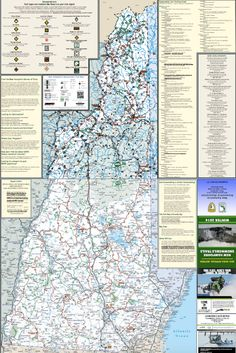 14 Best Snowmobiling / ATV Riding images   Atv riding, Recreational Nh Snowmobile Trails Map on