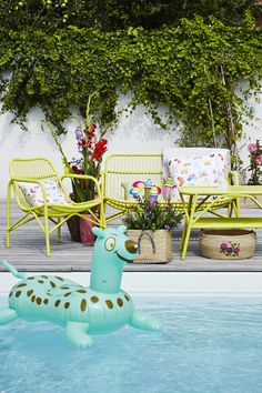 Folding Baja Pool Float Chair | Pinterest | Pool Chairs, Pool Floats And  Budgeting