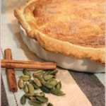 Milk tart (or melktert) is a delicious and very traditional South African dessert, like a baked custard tart. In this recipe I lighten it by using a puff-pastry crust. South African Desserts, South African Dishes, South African Braai, Melktert, Peppermint Crisp, Coconut Tart, Biltong, Side Dishes For Bbq
