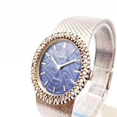 Ladies OMEGA 18K White gold plated 26 Diamonds bezel manual wind wristwatch - http://menswomenswatches.com/ladies-omega-18k-white-gold-plated-26-diamonds-bezel-manual-wind-wristwatch/ COMMENT.