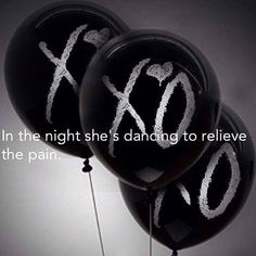 The Weeknd - In The Night  All alone she was living In a world without an end…