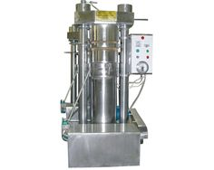 hydraulic oil press which is most suitable for processing sesame oil, while, other oil seeds like walnut, camellia, How To Make Oil, Press Machine, Sesame Oil, Making Machine, Seed Oil, Olive Oil, Coffee Maker, Household, Soap