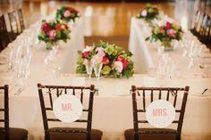 Tipos de mesas para boda: herradura #bodas #elblogdemaríajosé #mesas #montaje