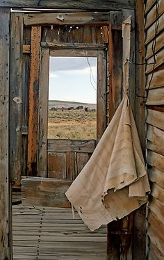 Porch Window in Bodie.