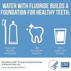 Get your fluoride folks