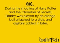 whaaaaat are telling me that dobby was stick with a ball head!!!!!!