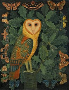 """Owl"" par Sophie Grandval"