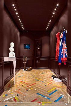 Nike VIP Showroom in London by Coordination Berlin (beautiful floor!)