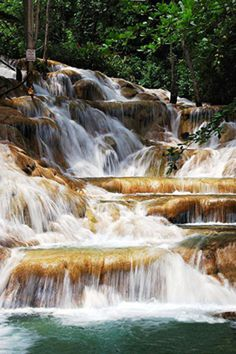 Dunns's river falls, Jamaica (We climbed it!)