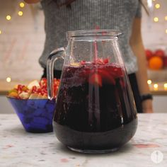Not Your Bubbie's Classic Manischewitz Sangria Recipe