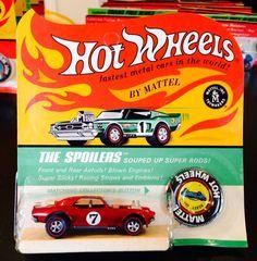 Red Heavy Chevy Redline Hot Wheel Blisterpak Mattel #HotWheels #Chevrolet