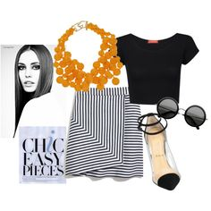 simple stripes by natalyz on Polyvore
