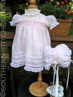 Hand-Smcked Heirloom Dress