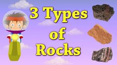 """You will learn about """"3 Types of Rocks"""" in this video. Rocks can be broadly divided into three types on the bases of their formation, namely igneous rocks, s..."""